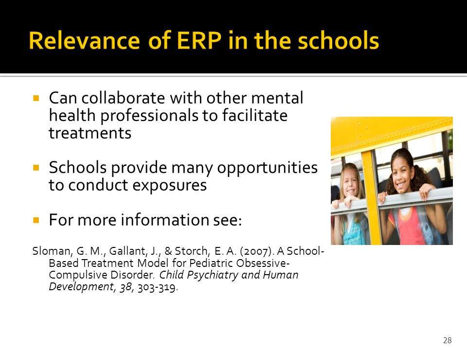 Relevance of ERP in the schools