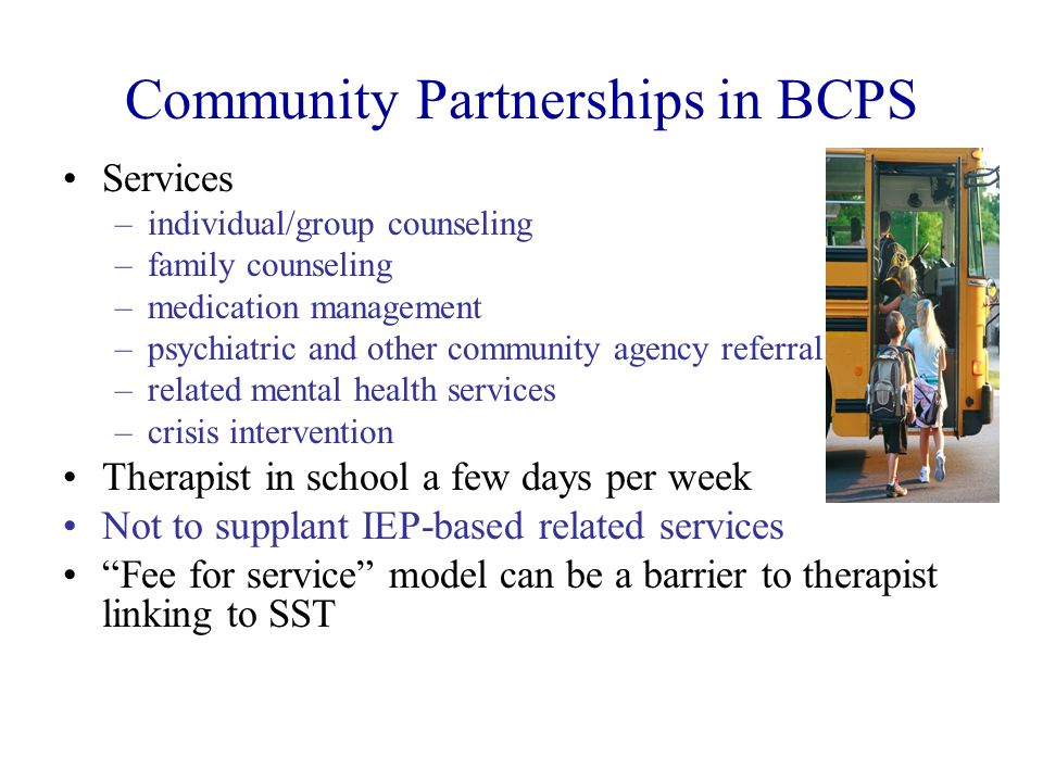 Community Partnerships in BCPS