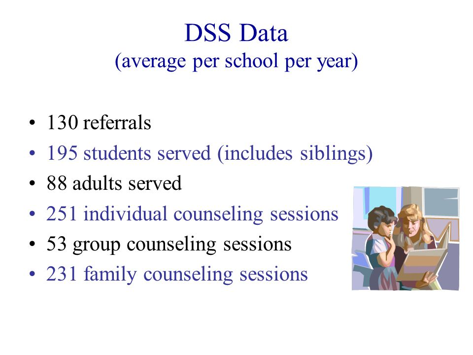 DSS Data (average per school per year)