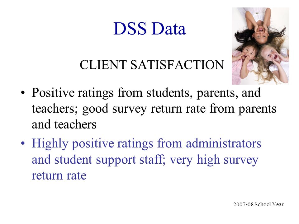 DSS Data CLIENT SATISFACTION