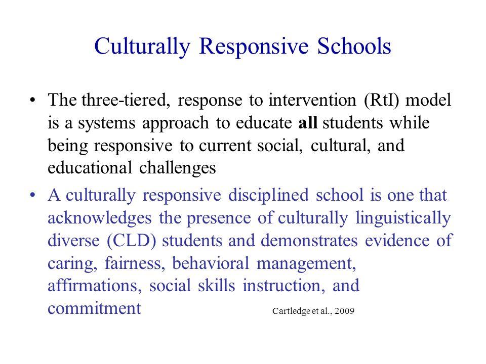 Culturally Responsive Schools