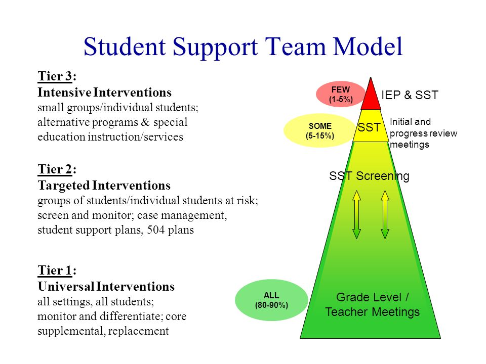 Student Support Team Model