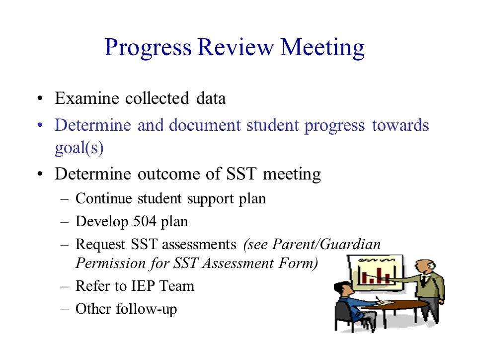 Progress Review Meeting