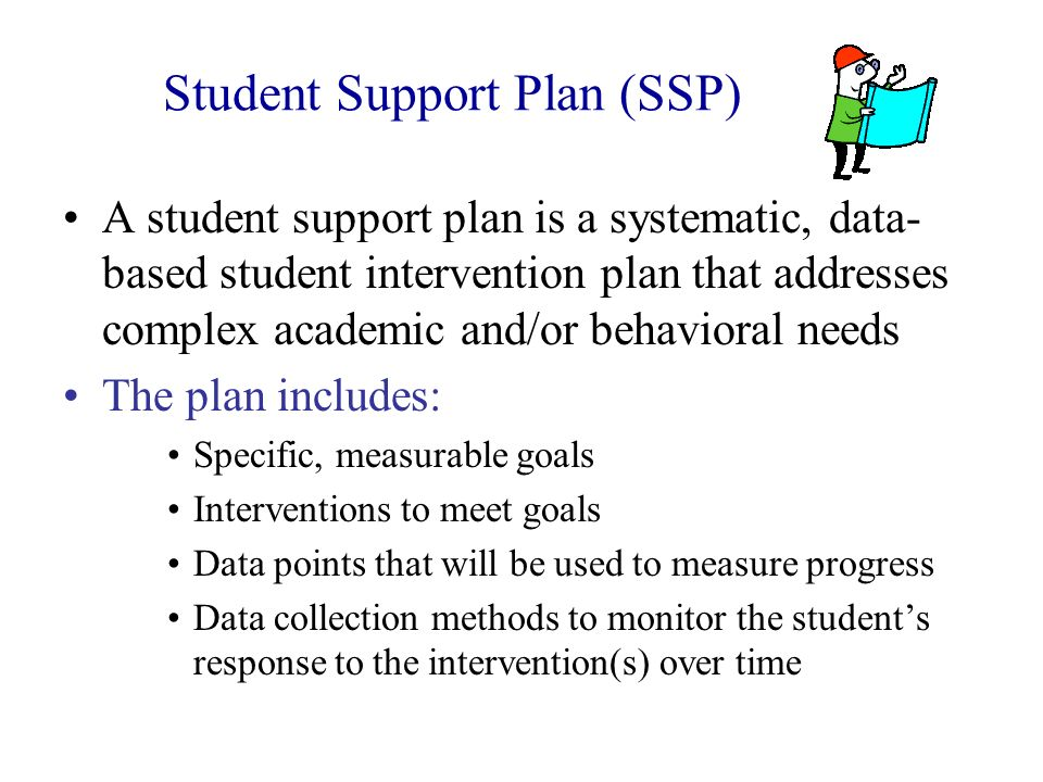 Student Support Plan (SSP)