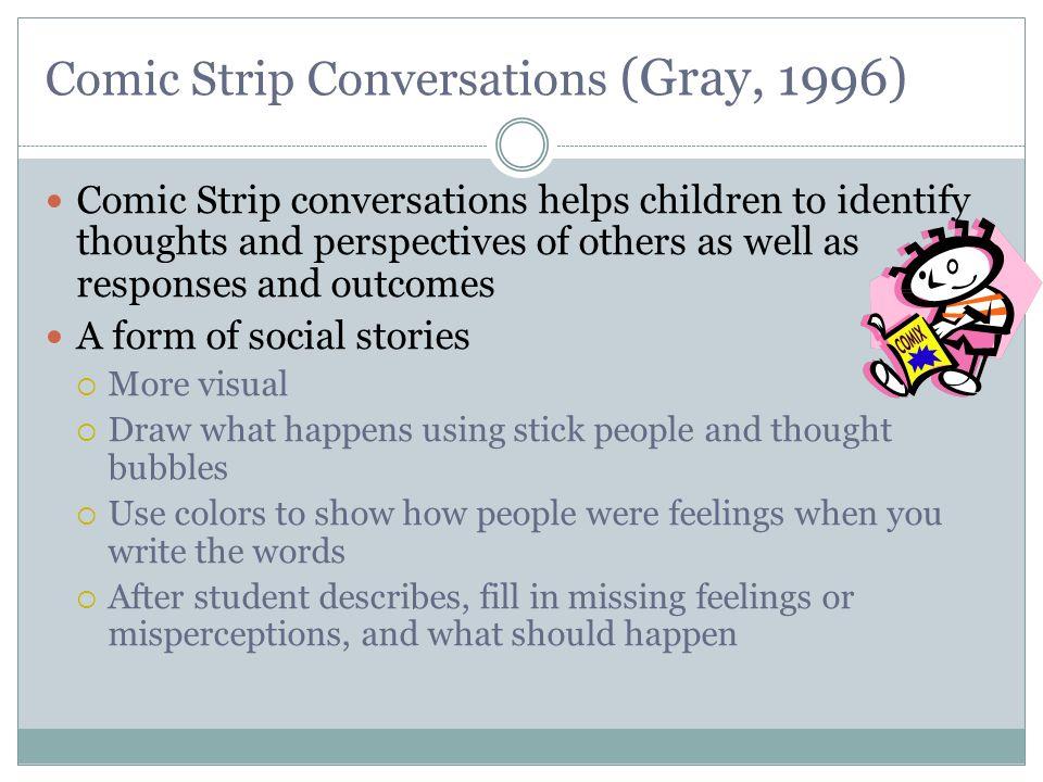 Comic Strip Conversations (Gray, 1996)