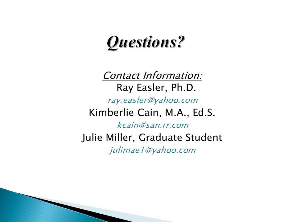 Julie Miller, Graduate Student