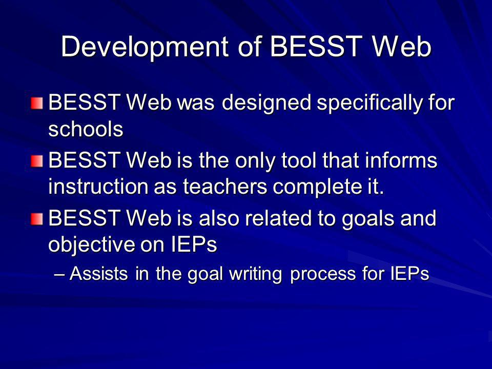 Development of BESST Web