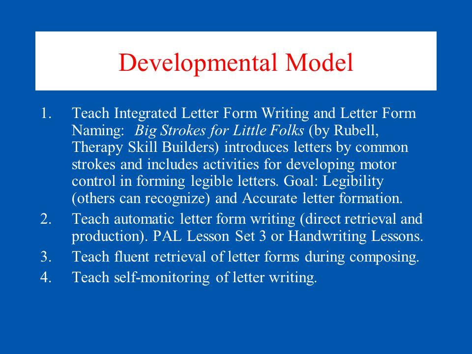 Developmental Model