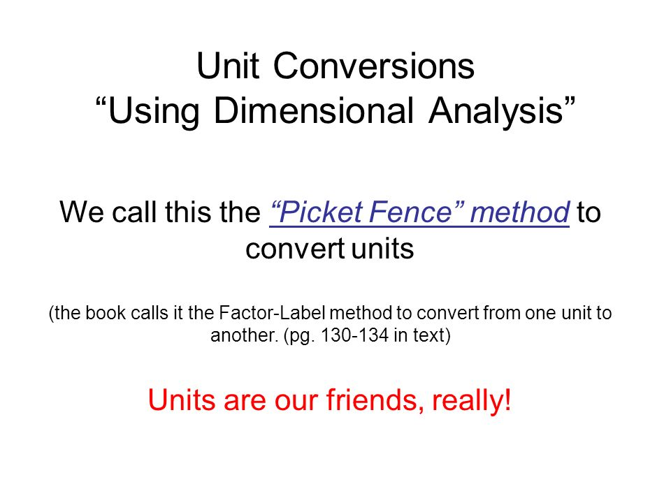 "Unit Conversions ""Using Dimensional Analysis"" - ppt download"