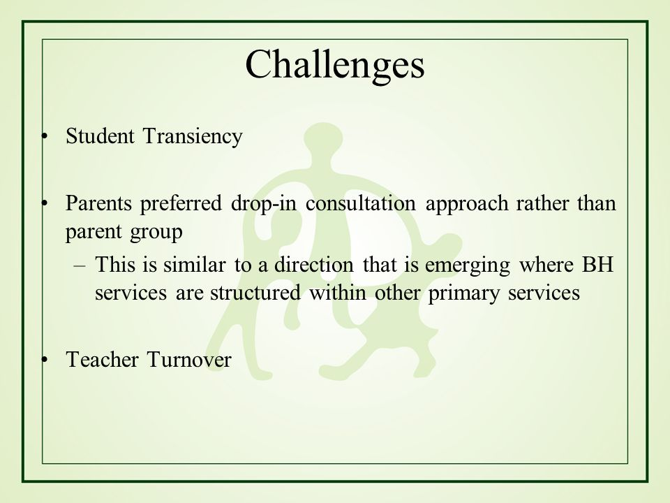Challenges Student Transiency