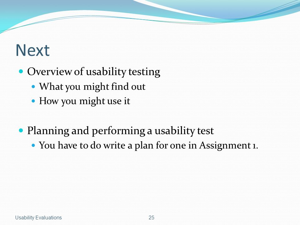 Evaluations how to write one