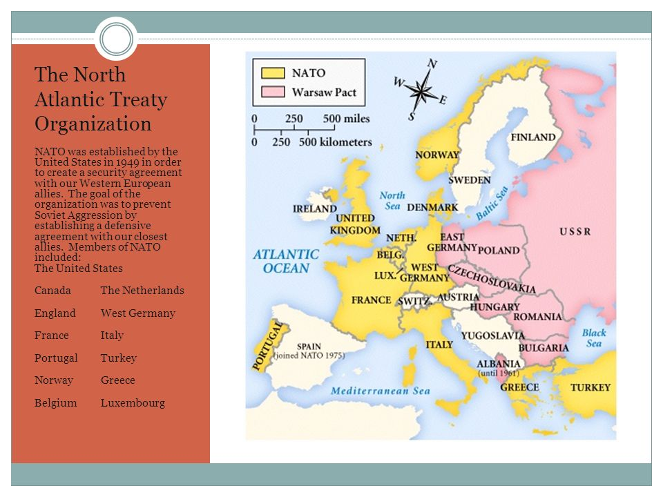 the history and role of the north atlantic treaty organization The north atlantic treaty organization combined the military strength of - 3568670 1 log in join now 1 log in join now high school history 5 points.
