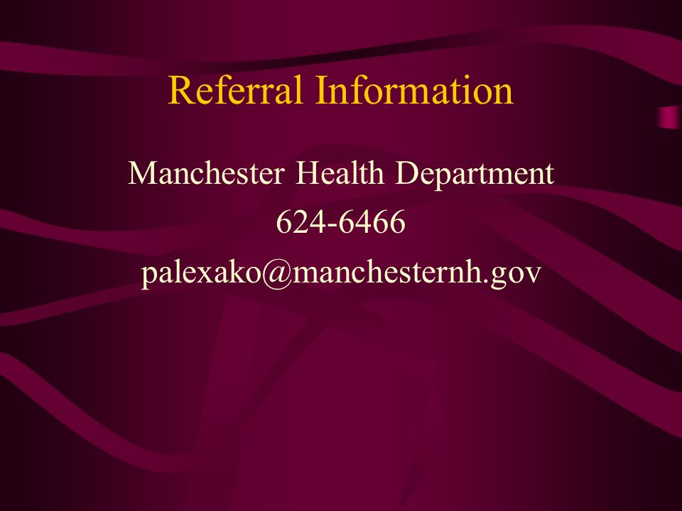 Manchester Health Department