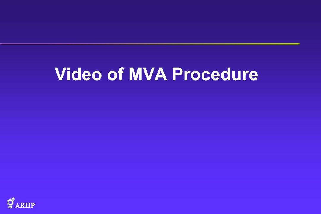 Video of MVA Procedure