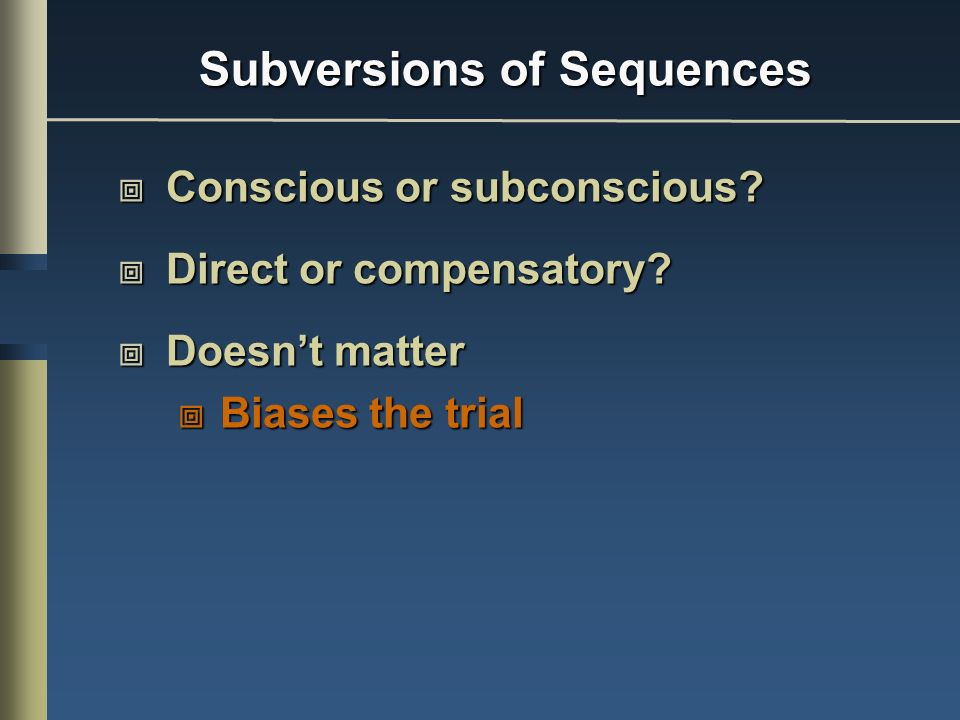 Subversions of Sequences
