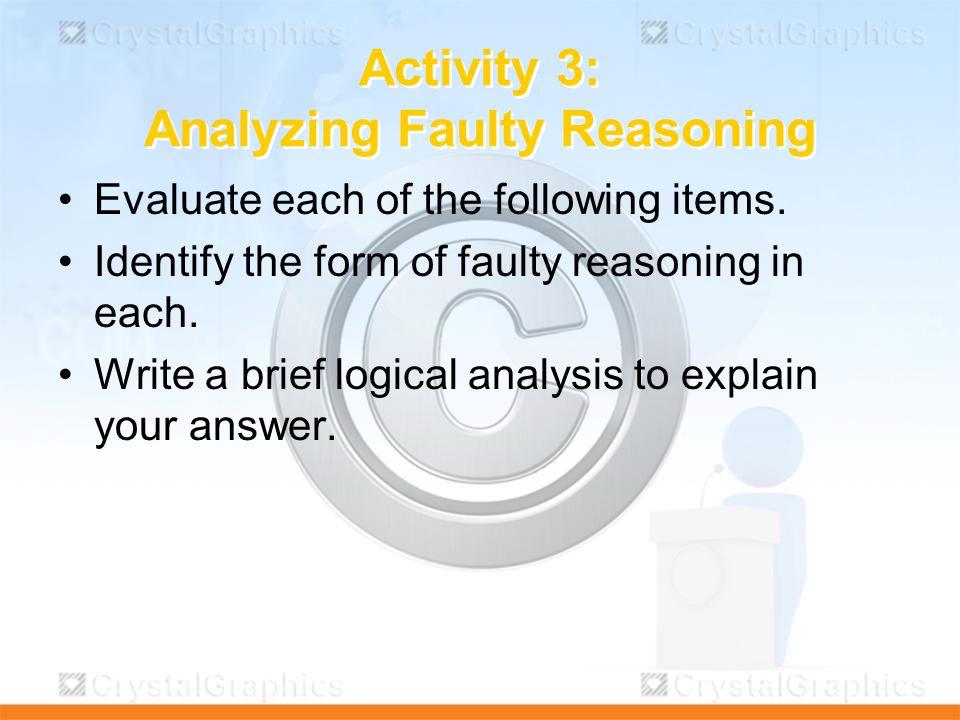 logical reasoning analyzing arguments pdf