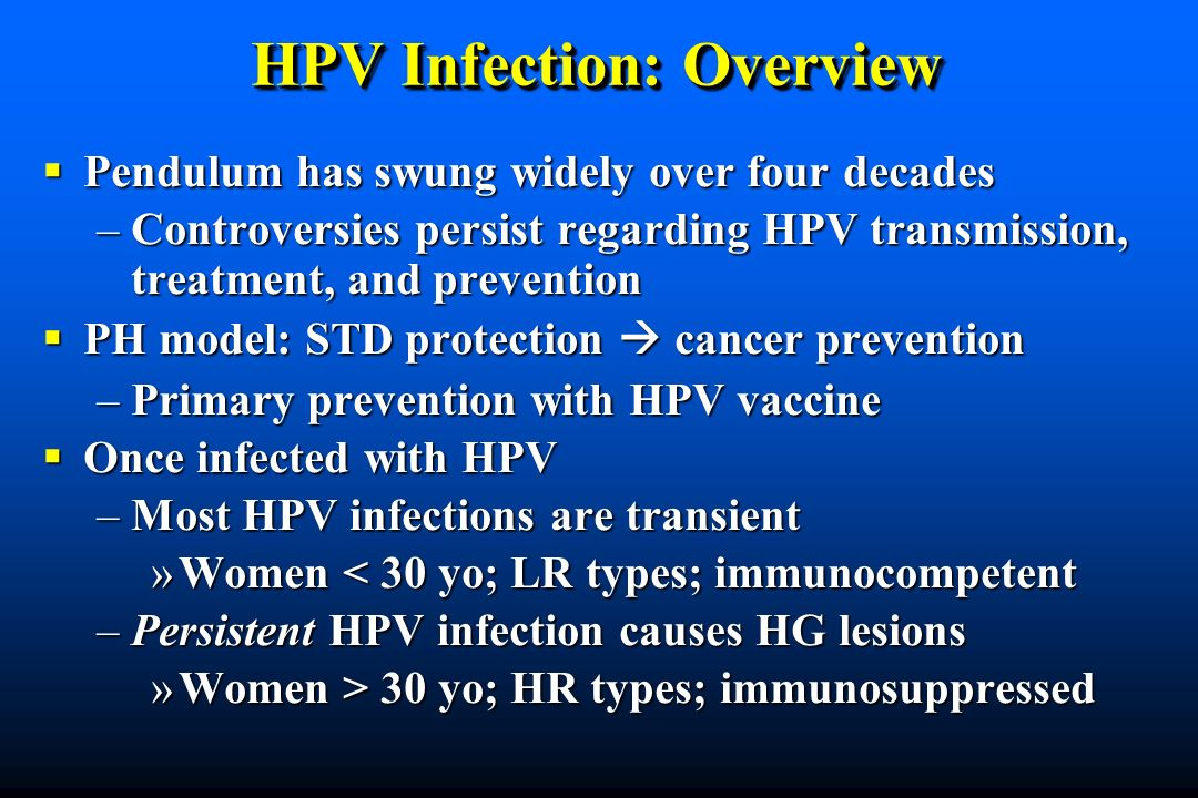 HPV Infection: Overview
