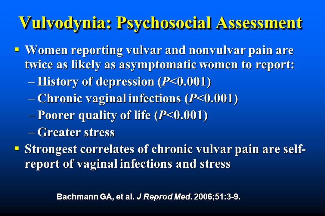 Vulvodynia: Psychosocial Assessment