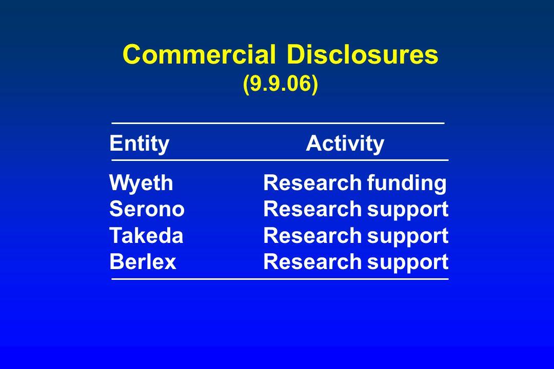 Commercial Disclosures (9.9.06)
