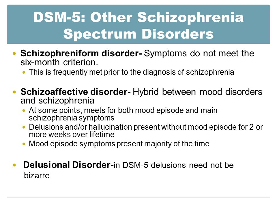 Chapter 11: Schizophrenia and the Psychosis Spectrum - ppt download