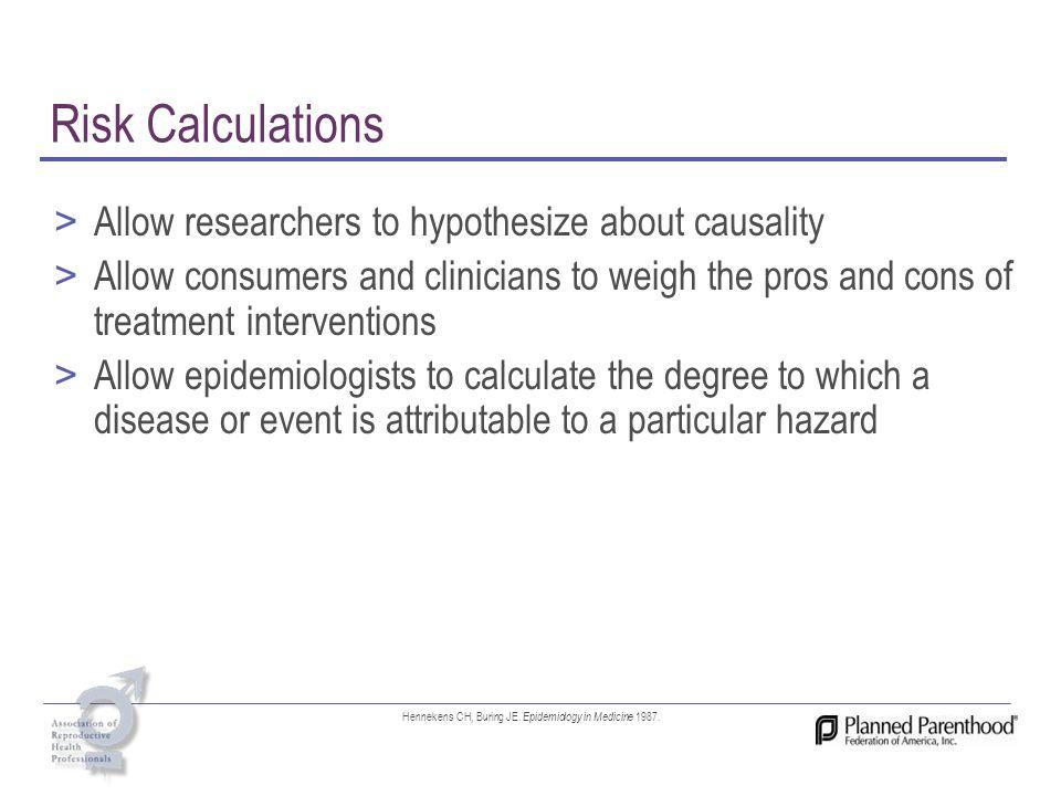 Hennekens CH, Buring JE. Epidemiology in Medicine 1987.