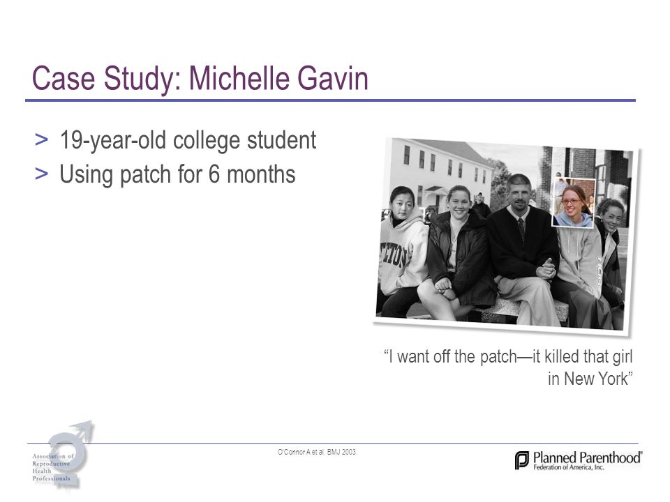 Case Study: Michelle Gavin