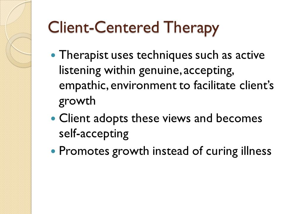 therapist and client relationship in existential therapy