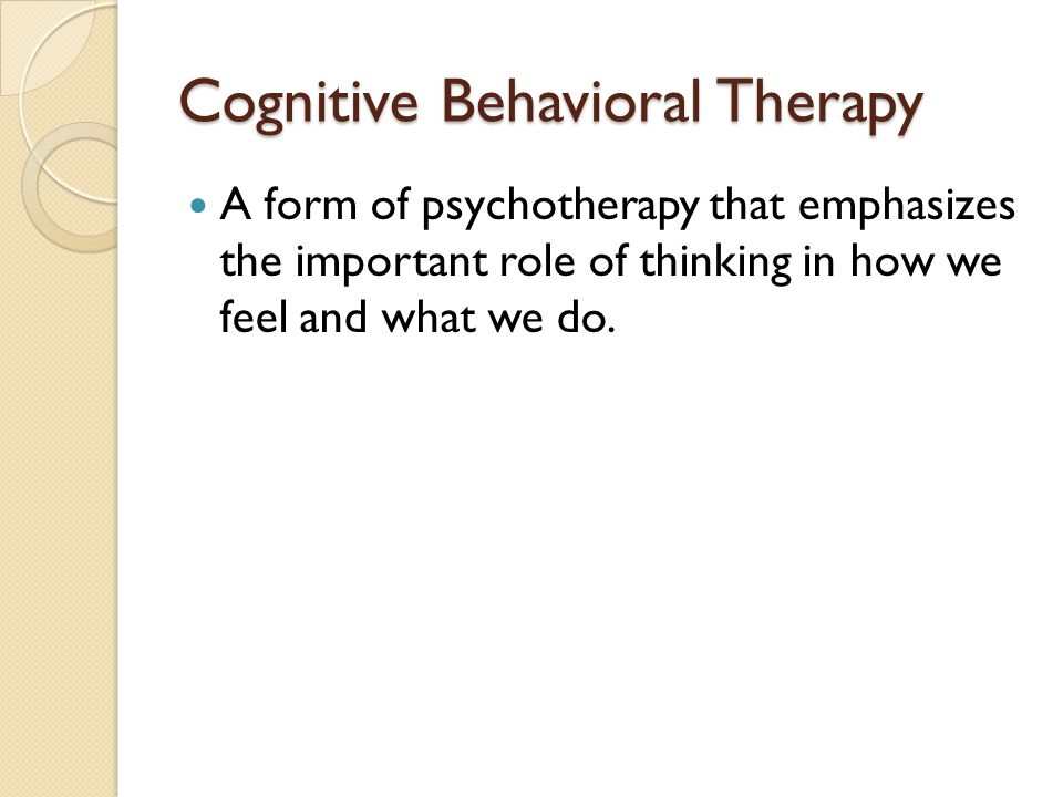 the role of behavior and cognition The behavioral science of psychology focuses on understanding behavior and  the  nonhuman animals through research called cognitive-behavioral research.