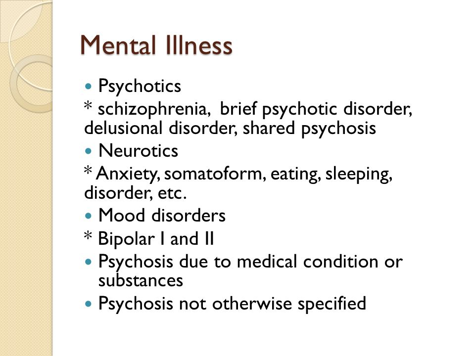 schizophrenia psychosis and bipolar disorder Delusional disorder is sometimes confused with schizophrenia as both share delusions as a characteristic what distinguishes delusional disorder is the presence of plausible delusions, as opposed to the more bizarre delusions that may accompany schizophrenia delusions are generally thought of as.