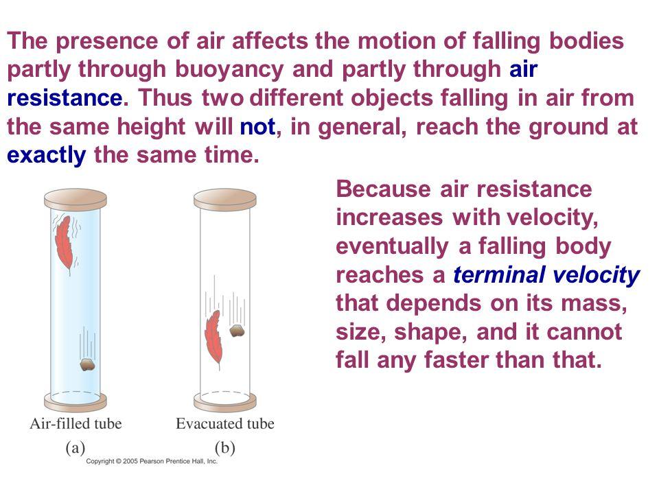 motion of free falling bodies pdf