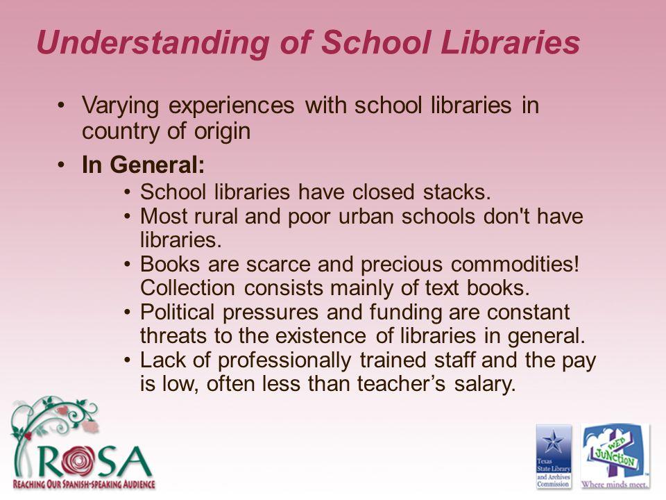 Understanding of School Libraries