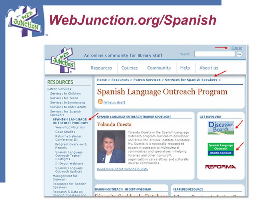 WebJunction.org/Spanish