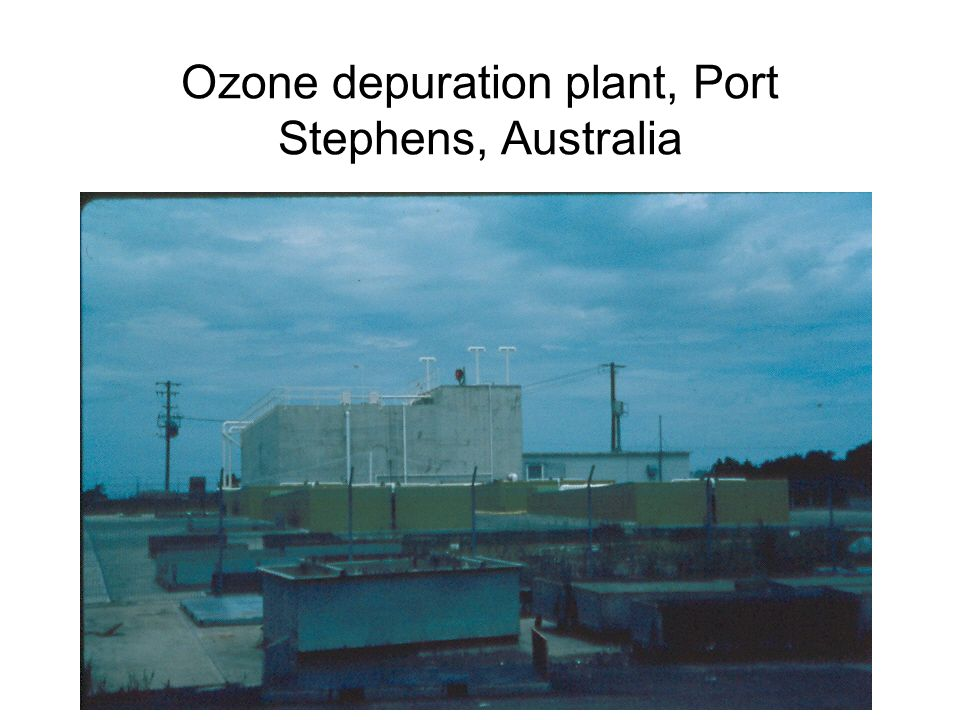 Ozone depuration plant, Port Stephens, Australia