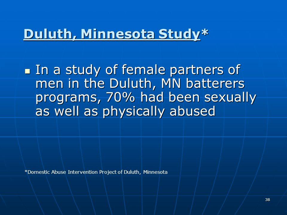 Duluth, Minnesota Study*