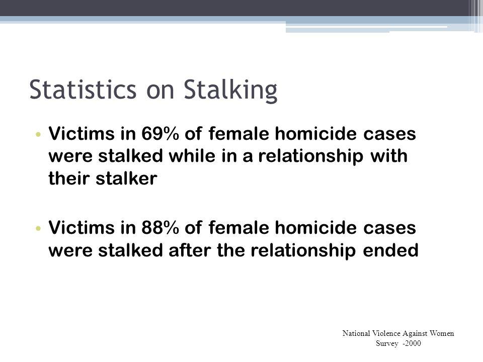 Statistics on Stalking