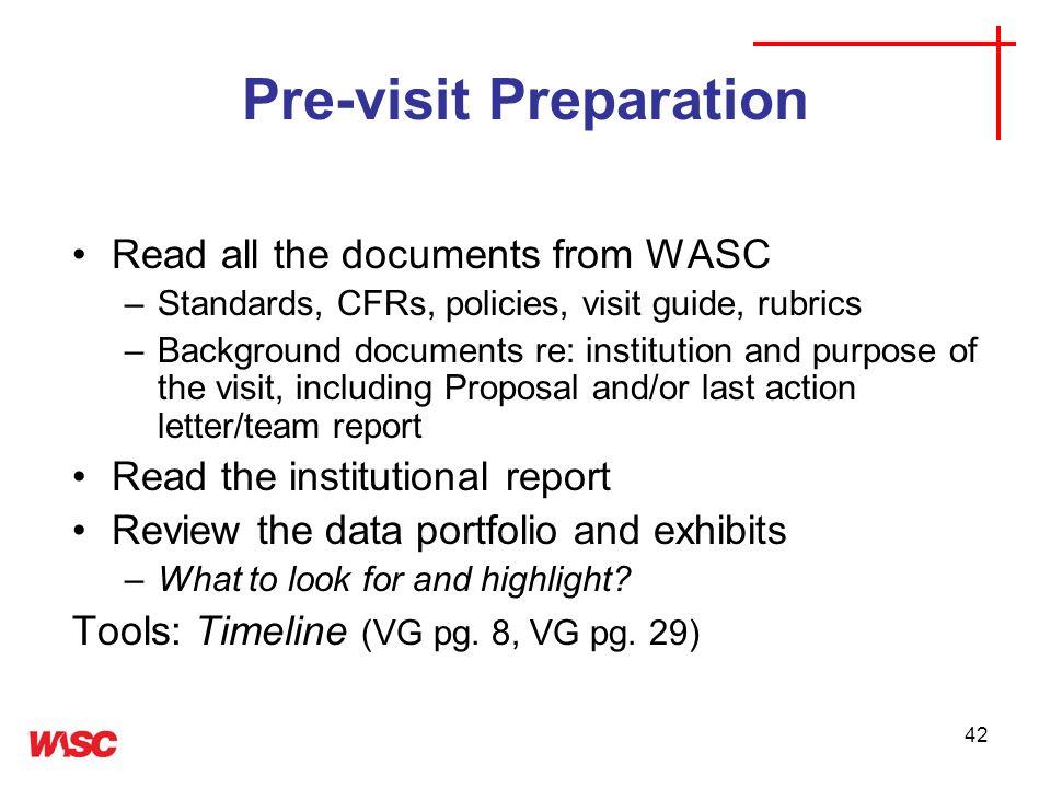 Pre-visit Preparation