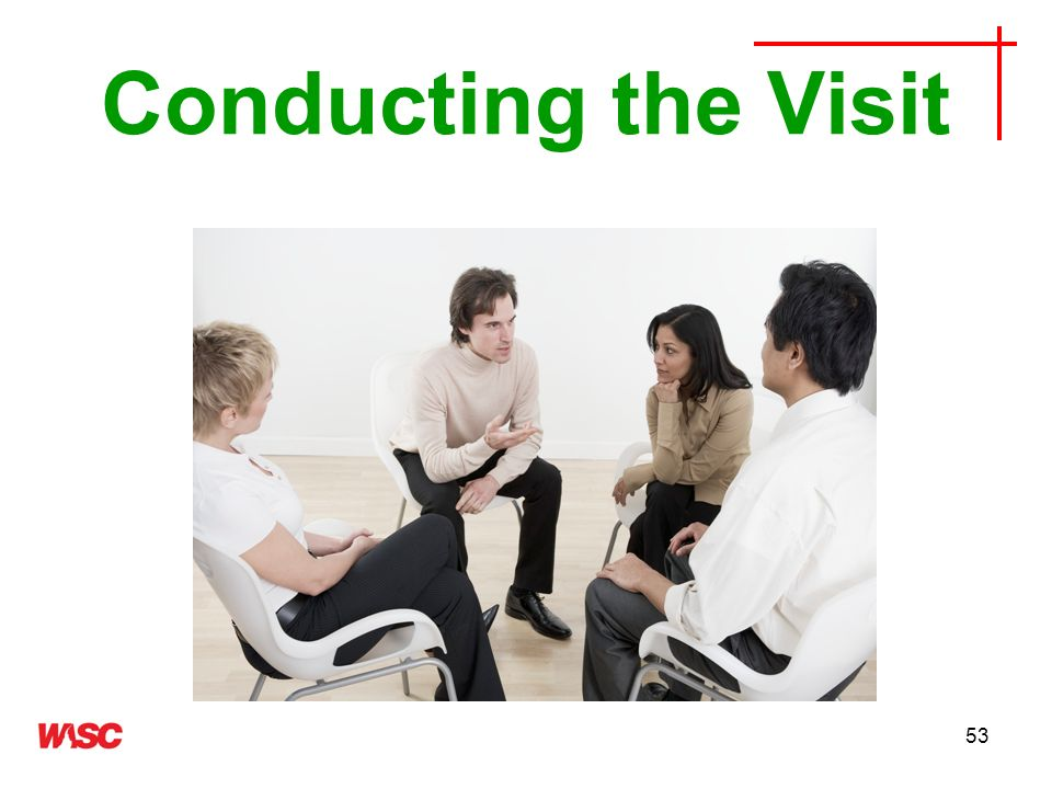 Conducting the Visit