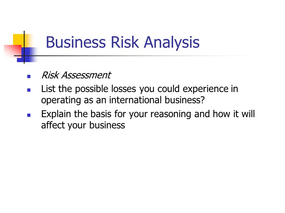 Session Risk Management Plan  Ppt Video Online Download