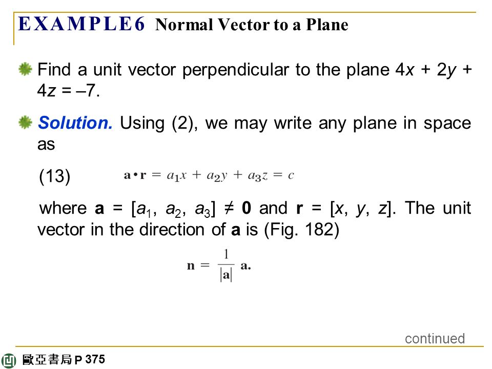 How to find a unit vector