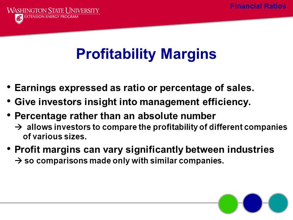 Profitability Margins