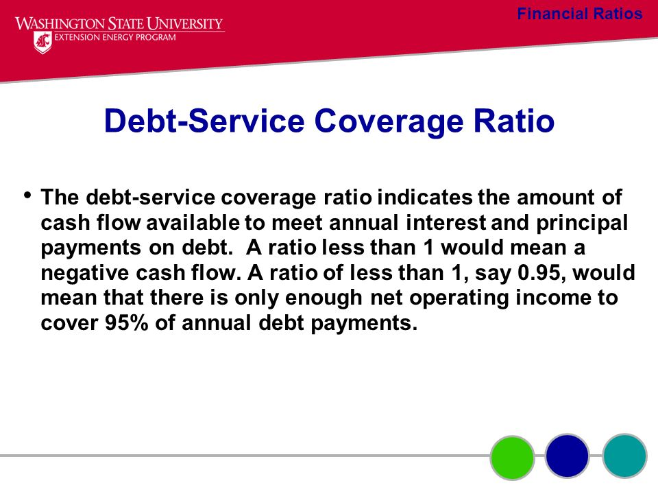 Debt-Service Coverage Ratio