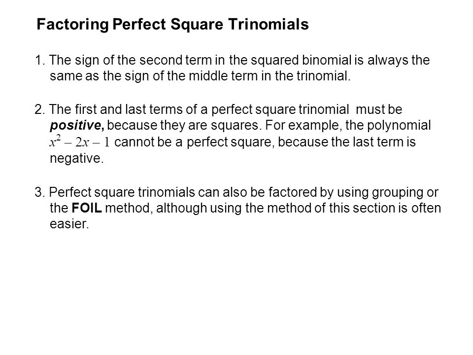 how to find the greatest perfect square factor