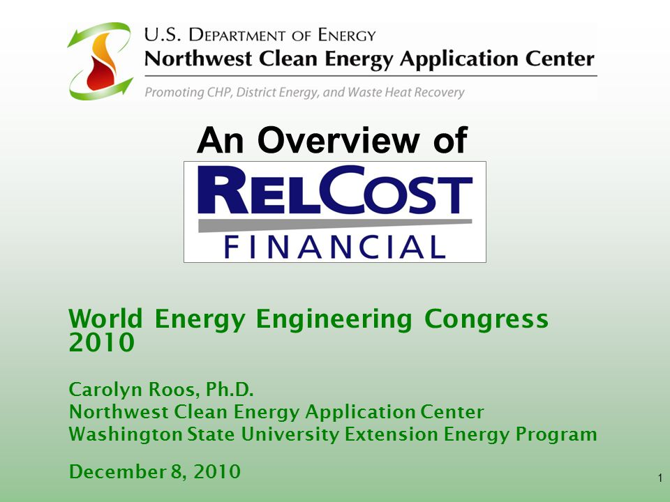 An Overview of World Energy Engineering Congress 2010