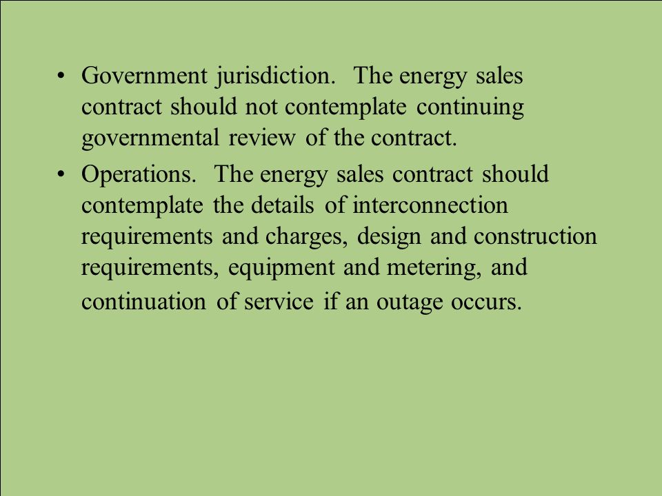 Government jurisdiction