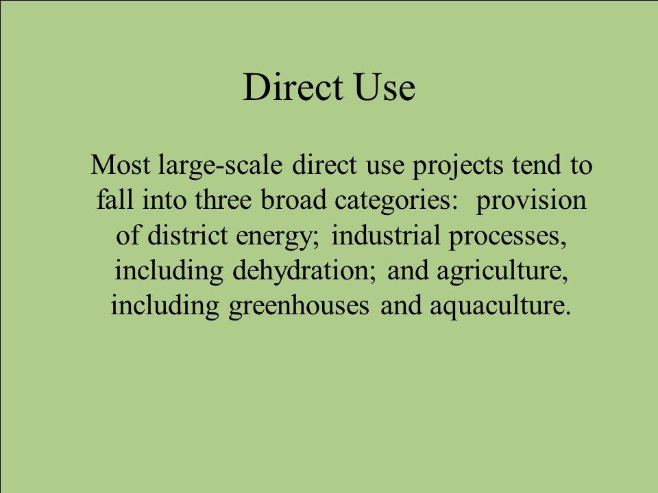 Direct Use