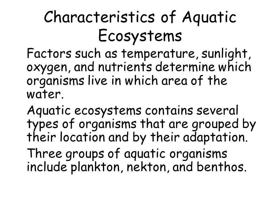 types of biomes and their characteristics pdf