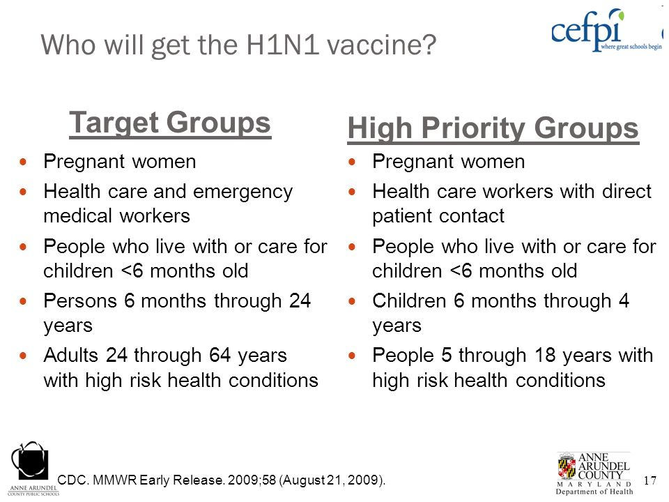 Who will get the H1N1 vaccine