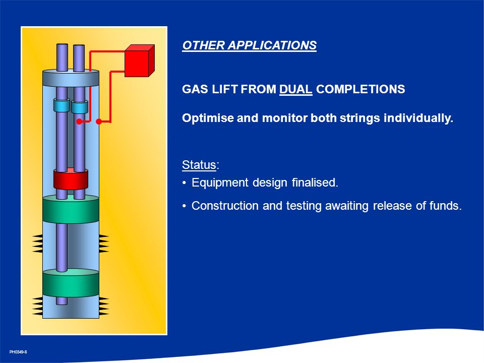 Gas Lift Design : Remote operation of gas lifted wells john stewart shell
