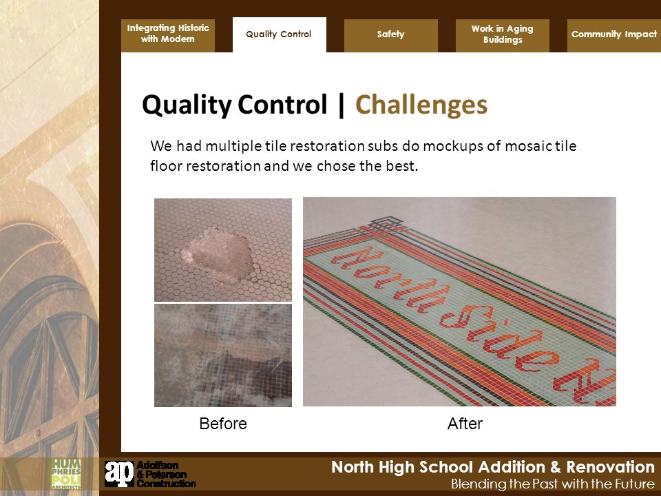 Quality Control | Challenges