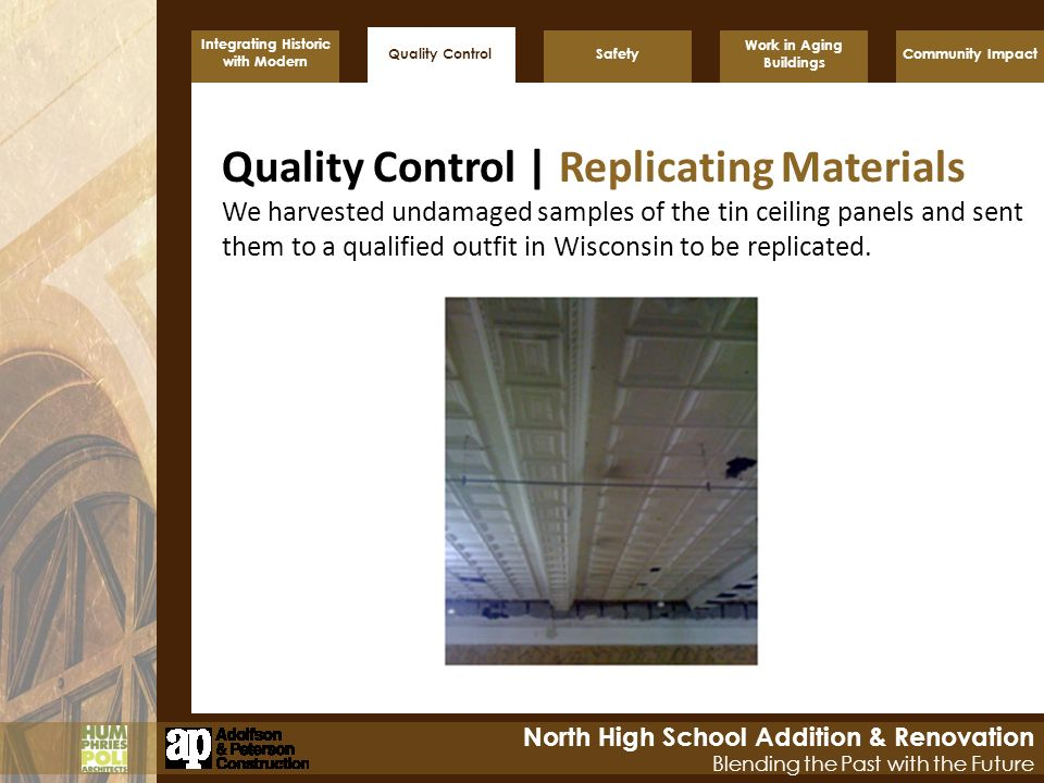 Quality Control | Replicating Materials